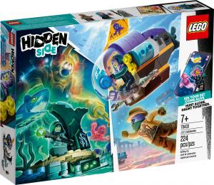LEGO HIDDEN SIDE SOTTOMARINO DI J.B. 70433
