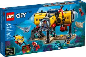 LEGO CITY BASE PER ESPLORAZIONI OCEANICHE 60265