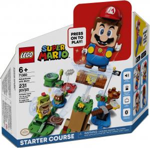 LEGO SUPER MARIO AVVENTURE DI MARIO - STARTER PACK 71360