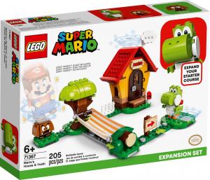 LEGO SUPER MARIO CASA DI MARIO E YOSHI - PACK DI ESPANSIONE 71367