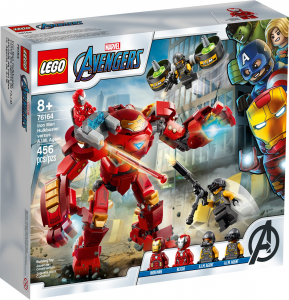 LEGO SUPER HEROES IRON MAN HULKBUSTER CONTRO L'AGENTE A.I.M. 76164