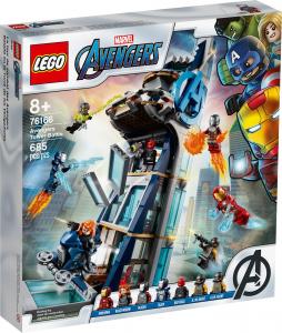 LEGO SUPER HEROES BATTAGLIA SULLA TORRE DEGLI AVENGERS 76166