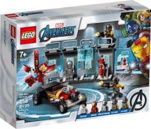 LEGO SUPER HEROES ARMERIA DI IRON MAN 76167