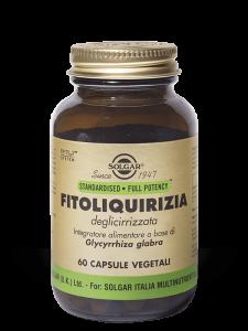 Solgar Fitoliquirizia Deglicirrizzata 60 capsule vegetali