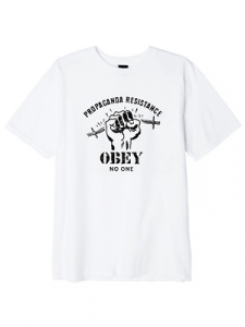 T-Shirt Obey Resist First