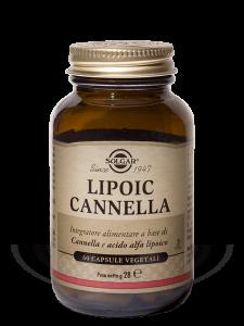 Solgar Lipoic Cannella 60 capsule vegetali