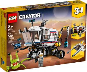LEGO CREATOR IL ROVER DI ESPLORAZIONE SPAZIALE 31107