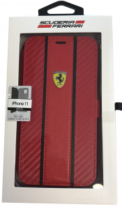 Ferrari Red Booktype Folio iPhone 11