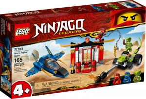LEGO NINJAGO BATTAGLIA SULLO STORM FIGHTER 71703