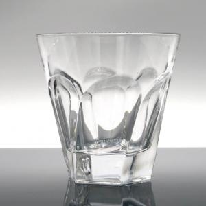 Bicchiere in vetro ritorto