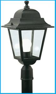 Lanterna testa-palo 'Quadrata'