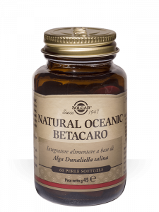 Solgar Natural Oceanic Betacaro 60 perle - softgels