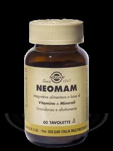 Solgar Neomam-60 tavolette