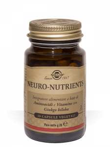 Solgar Neuro Nutrients 30 capsule vegetali