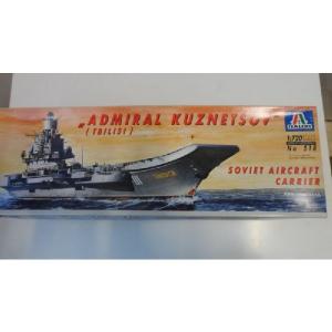 ADMIRAL KUZNETSOV SOVIET AIRCRAFT CARRIER ITALERI