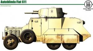 AUTOBLINDA FIAT 611