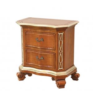 Handcrafted nightstand in wood Artigianato prezioso