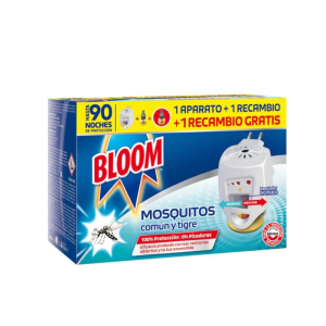 Bloom Zero Mosquitoes 1 Electric Device + 2 Refill