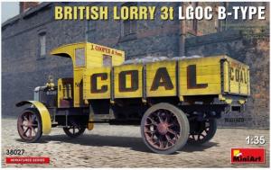 British Lorry 3T LGOC B-Type