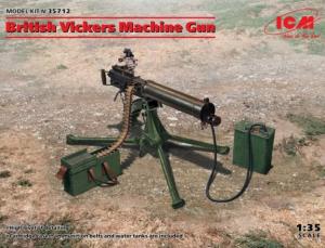 British Vickers Machine Gun