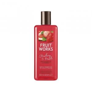 Fruit Works Gel DocciaAalla Fragola E Pompelmo 500ml