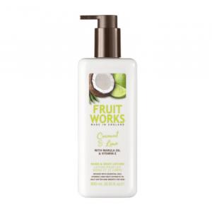 Fruit Works Lozione Mani E Corpo Al Cocco E Lime 500ml