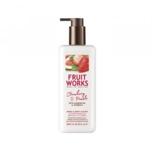 Fruit Works Lozione Per Mani E Corpo Alla Fragola E Pompelmo 500ml