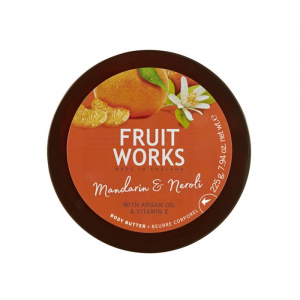 Fruit Works Body Butter Tangerine And Neroli 225g