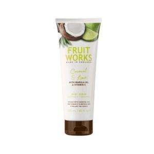 Fruit Works Body Scrub Coconut & Lime 238ml