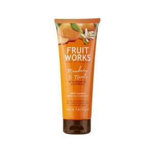Fruit Works Body Scrub Tangerine & Neroli 238ml