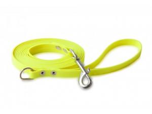 Guinzaglio Biothane 1,2 metri, 13mm, con maniglia e anello Firedog