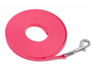 Lunghina biothane, 10metri 13mm, rosa, Firedog