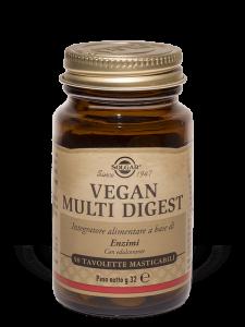 Solgar Vegan Multi Digest Masticabile 50 tavolette