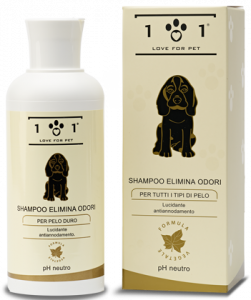 Shampoo elimina odori
