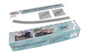 German Railway Curved Track