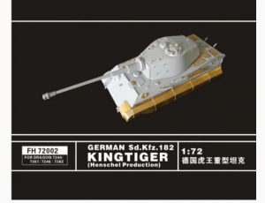German Sd.Kfz. 182 Kingtiger (Henschel Production)