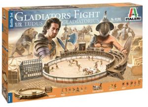 Gladiators Fight Ludus Gladiatorius