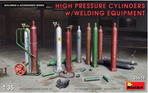 High Pressure Cylinders with Welding Equipment