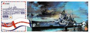 HMS Prince of Wales Battleship Dec. 1941