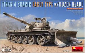 IDF Medium Tank Tiran 4 Sharir Early Type