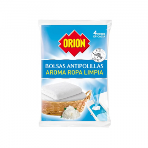 Orion Mothproof Bags Aroma Clean Clothes 20 Units