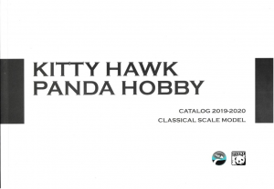 KITTY HAWK CATALOGUE 2019