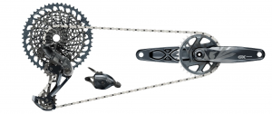 SRAM  Gruppo NEW GX Eagle Con Pedivella da 175mm LUNAR GRAY