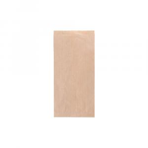 Sacchetto per brioches e panini color avana - 12x7x24 cm