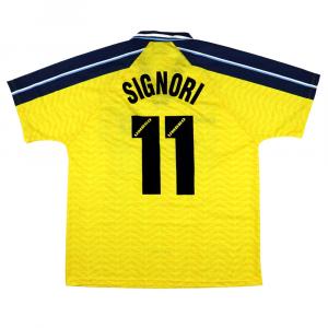 1996-97 Lazio Maglia Terza #11 Signori XL (TOP)