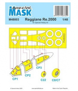 Reggiane Re 2000 Mask