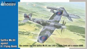 Spitfire Mk.XII against V-1 Flying Bomb