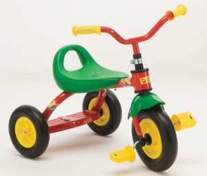 TRICICLO SWING C/VASCHETTA RUOTE GONFIABILI 91584 ROLLY TOYS