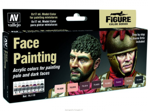Faces Painting Set