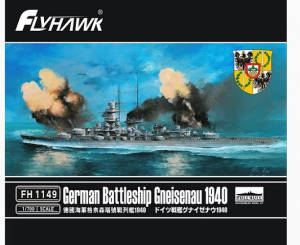 German Battleship Gneisenau 1940